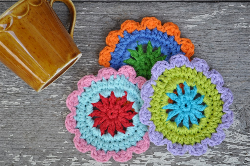Free Coaster Crochet Pattern | Turtleweenies