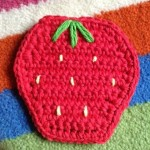 Sweet Strawberry Coaster