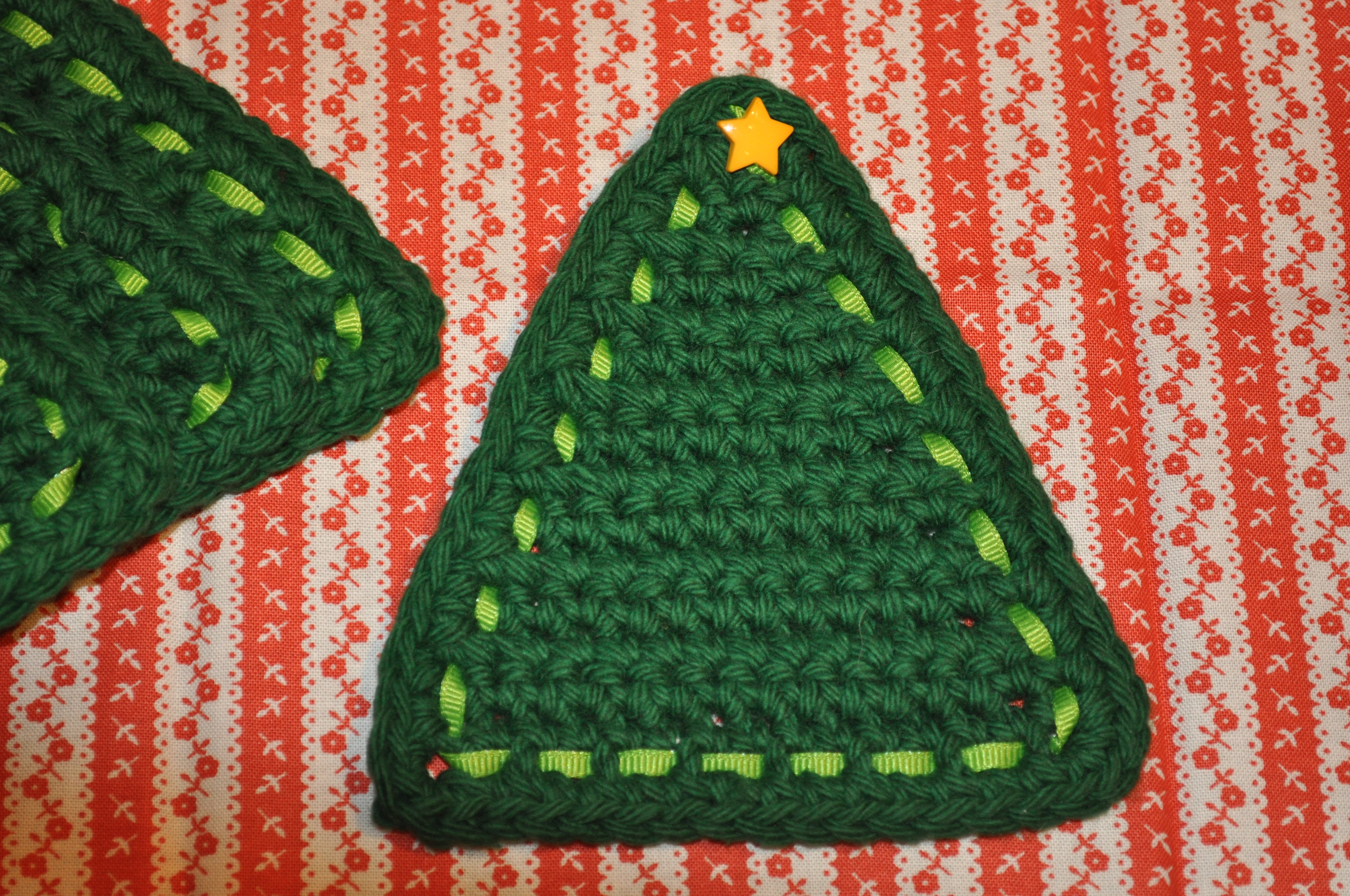 Christmas Tree Coasters Turtleweenies